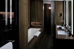 Bathroom at Armani Hotel Dubai