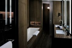 Bathroom at Armani Hotel Dubai