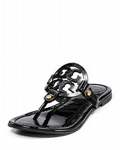 f3c9681ba Tory Burch Sandals - Miller Thong Bloomingdale's I wonder if my wide fee  will fit in these? Baehr Feet