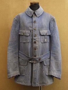 vintage french military jacket +++Via MindBender+++
