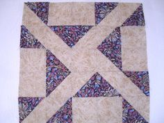 Pathfinder quilt block and tutorial from Ludlow Quilt and Sew