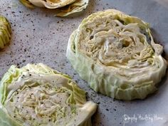 Italian Seasoned Roasted Cabbage Steaks ... healthy, simple + delicious. A guest post from Simply Healthy Home.