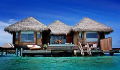 Beach Cottages - The Maldives Islands