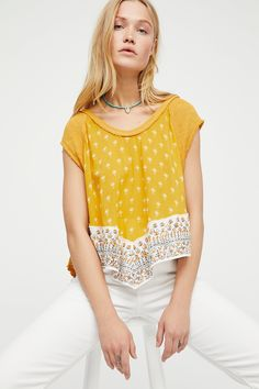 Shop our We The Free Safe And Sound Tee at FreePeople.com. Share style pics with FP Me, and read & post reviews. Free shipping worldwide - see site for details.