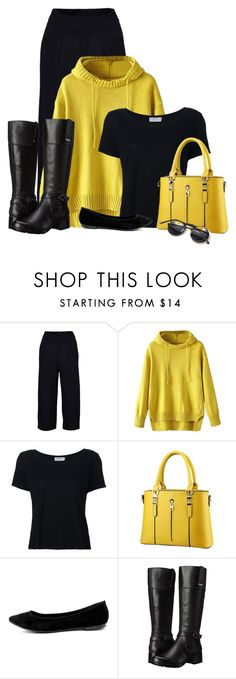"""""""Untitled #1752"""" by tinkertot ❤ liked on Polyvore featuring Boohoo, Frame, Breckelle's and Bandolino"""