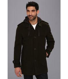 Cole Haan Italian Luxe Wool Duffle Coat