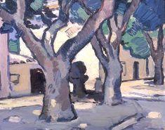 The Athenaeum - PEPLOE, Samuel John Scottish (1871-1935)_Trees at Cassis