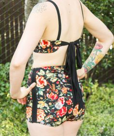 DIY High Waisted Bikini - Fabrication  Pollination blog