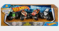 Hot Wheels Monster Jam Tour Favorites – Styles May Vary: Toys Amazon http://amzn.to/2dXqZeT