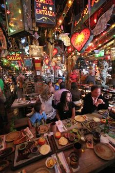 Andres carne de Res, a particular restaurant in Bogota, Colombia. Here food and rumba are one of a kind. Don't miss it