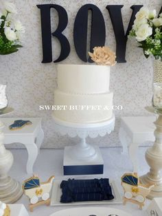 BABY BOY Baby Shower Party Ideas