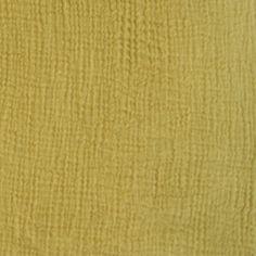 Tissu gaze coton douceur d'or @ Ma Petite Mercerie