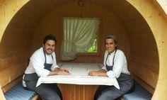 Acqua nuova in Cadore - AGA, ristorante del giovane cuoco Oliver Piras, prende il suo nome dalla locale lingua ladina