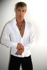 Men's Crepe Latin Shirt (SKU: MALY72201)  http://www.tangorougeballroomdancewear.com/page/mens-shirts