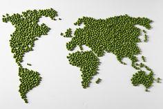 World peas. Give peas a chance.
