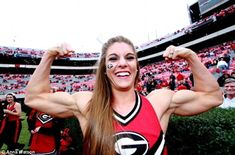 University of Georgia junior, Anna Watson, turned down a 75,000 dollar modeling contract that would have had her starting on steroid cycles. Good for her!