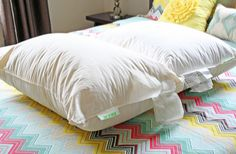 How+to+Clean+Feather+Pillows