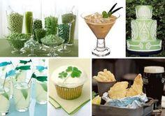 Green Irish-Inspired Wedding ideas st-patrick-s-day Wedding Vows, Wedding Blog, Wedding Events, Wedding Day, Themed Weddings, Wedding Stuff, Celtic Food, Irish Wedding Traditions, Lucky Food