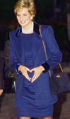 February 8, 1995: Princess Diana at The Red Cross Headquarters, Tokyo, Japan.