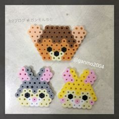 Bambi perler beads