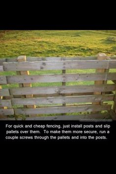 Cheapest And Easiest Way To Build A Fence #Home #Garden #Trusper #Tip