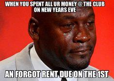 Can sharing the Crying Michael Jordan meme get you sued? Can sharing the Crying Michael Jordan meme get… Funny New Years Memes, New Year Meme, Memes Humor, Car Memes, Humor Videos, Humor Quotes, Funny Videos, Funny Quotes, Funny Memes