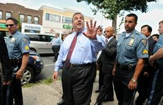"""Chris Christie finds a reason to visit Las Vegas in the dead of summer 