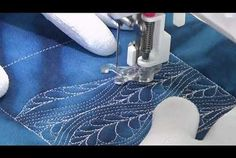 How to Quilt Windy Feathers