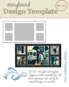 Free Storyboard Templates Photoshop Templates Free