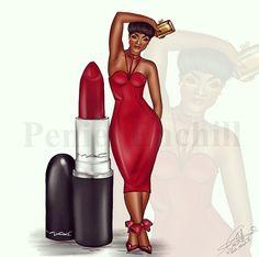Ms Ruby M.A.C. Girl series! #MAC #lipstick #beauty #Fashion #PenielEnchill
