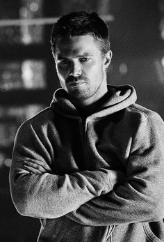 Stephen as Oliver Queen Seriously love this shot <3