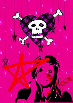 Avril Lavigne poster by Joyce Guo