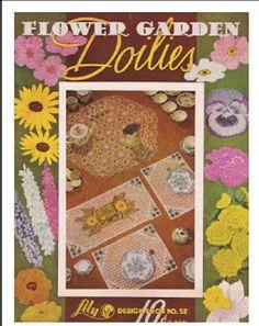 Flower Garden Doilies to Crochet