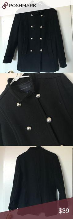 *Banana Republic* Black jacket *Banana Republic* Black jacket with cute button detailing Banana Republic Jackets & Coats
