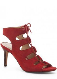 Rosalie Lace-up Mid Heel