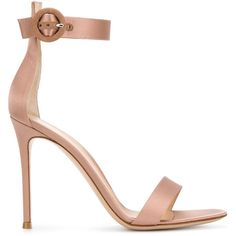 Gianvito Rossi Gianvito Rossi Portofino Sandals (2.520 BRL) ❤ liked on Polyvore featuring shoes, sandals, satin shoes, nude shoes, gianvito rossi sandals, gianvito rossi shoes and nude sandals