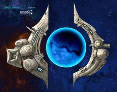 Stars in Shadow: Ancient Stargate by AriochIV.deviantart.com on @DeviantArt