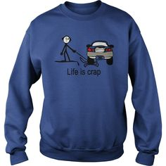 Life Is Crap Dog Funny T-Shirt #gift #ideas #Popular #Everything #Videos #Shop #Animals #pets #Architecture #Art #Cars #motorcycles #Celebrities #DIY #crafts #Design #Education #Entertainment #Food #drink #Gardening #Geek #Hair #beauty #Health #fitness #History #Holidays #events #Home decor #Humor #Illustrations #posters #Kids #parenting #Men #Outdoors #Photography #Products #Quotes #Science #nature #Sports #Tattoos #Technology #Travel #Weddings #Women #funnydogvideos