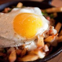 Bacon, Egg & Cheddar Fries From OTC, The Freshest Gastropub On The Scene In Brickell