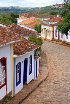 Where to go when you& not going to WC games: Tiradentes, a colonial hill town in Minas Gerais, Brazil Places Around The World, Oh The Places You'll Go, Places To Travel, Places To Visit, Around The Worlds, Brazil Tourism, Brazil Travel, Wonderful Places, Beautiful Places