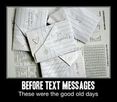 When things were simpler…