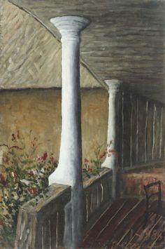 Horia Bernea (1938-2000) - Coloane la Văratec Painting, France, Art, Beauty, Art Background, Painting Art, Kunst, Paintings, Performing Arts