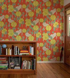 makelike (a shop) Succulent Wallpaper : Red
