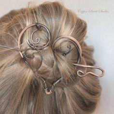 Forcina per capelli Fermacapelli di forma di CopperStreetStudios
