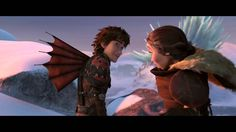How to Train Your Dragon 2- Hiccup and Valka   Exclusive Clip