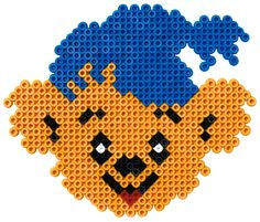 Hama Beads Design, Hama Beads Patterns, Beading Patterns, Pixel Art, Diy And Crafts, Crafts For Kids, Pokemon, Beaded Animals, Pearler Beads