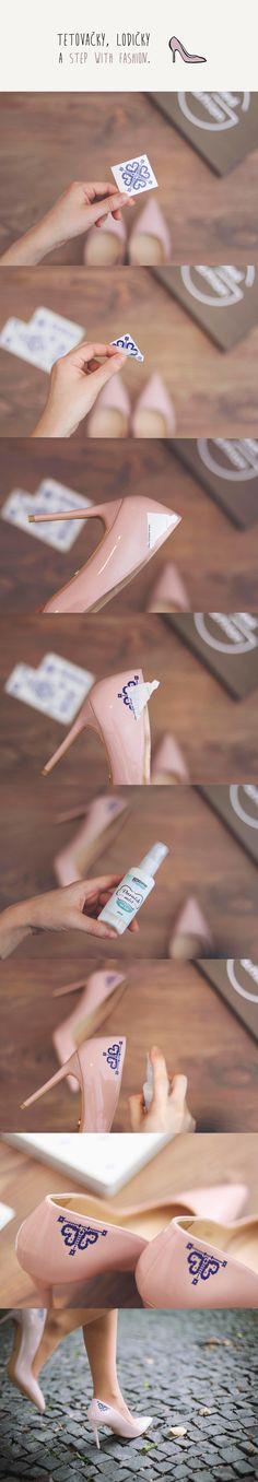 Tetovačky, lodičky & Step with fashion / DIY