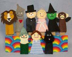Awesome finger puppets