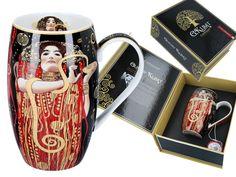 Gustav Klimt, Glass Art, Mugs, Tableware, Porcelain Ceramics, Dinnerware, Tumblers, Tablewares, Mug