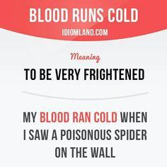 Blood runs cold #English